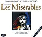 Les Miserables 2 Disc Set Broadway Cast 1987 CD Broadway
