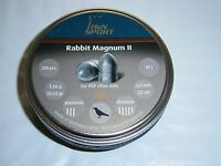 H&n Rabbit Magnum Ii For Pcp Rifles Only .22 Cal Pellets 200 Count 25.62 Grains