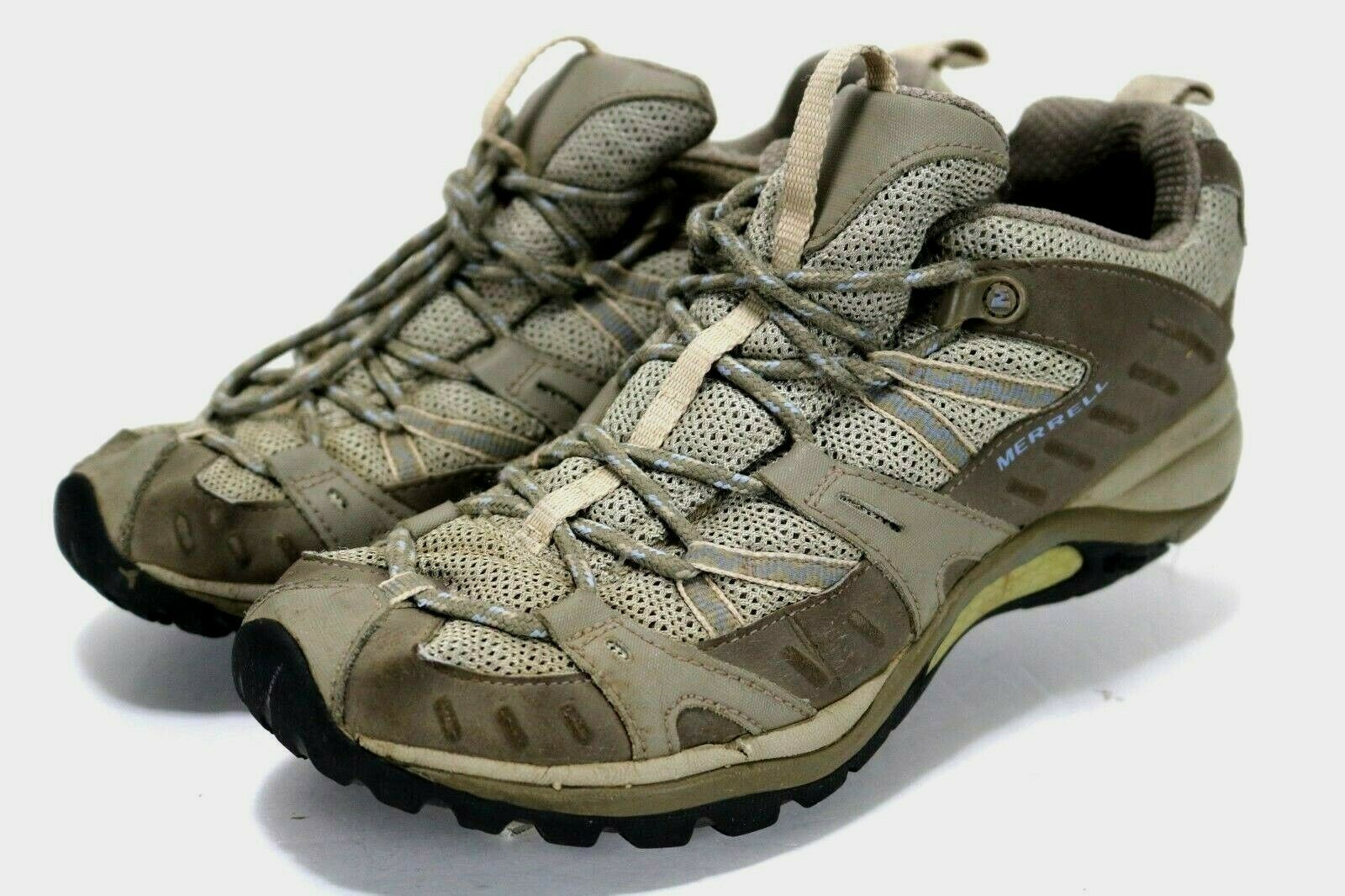 Merrell Siren Sport 2  Women's Olive Trail shoes shoes Size 8 Tan
