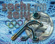 2014 Olympic Poster/Russia Winter Olympic Games/sochi.ru/Hockey/Skating/16x20