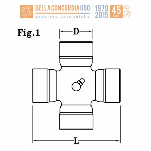 CR 112 CROCIERA CARDANICA 27x72
