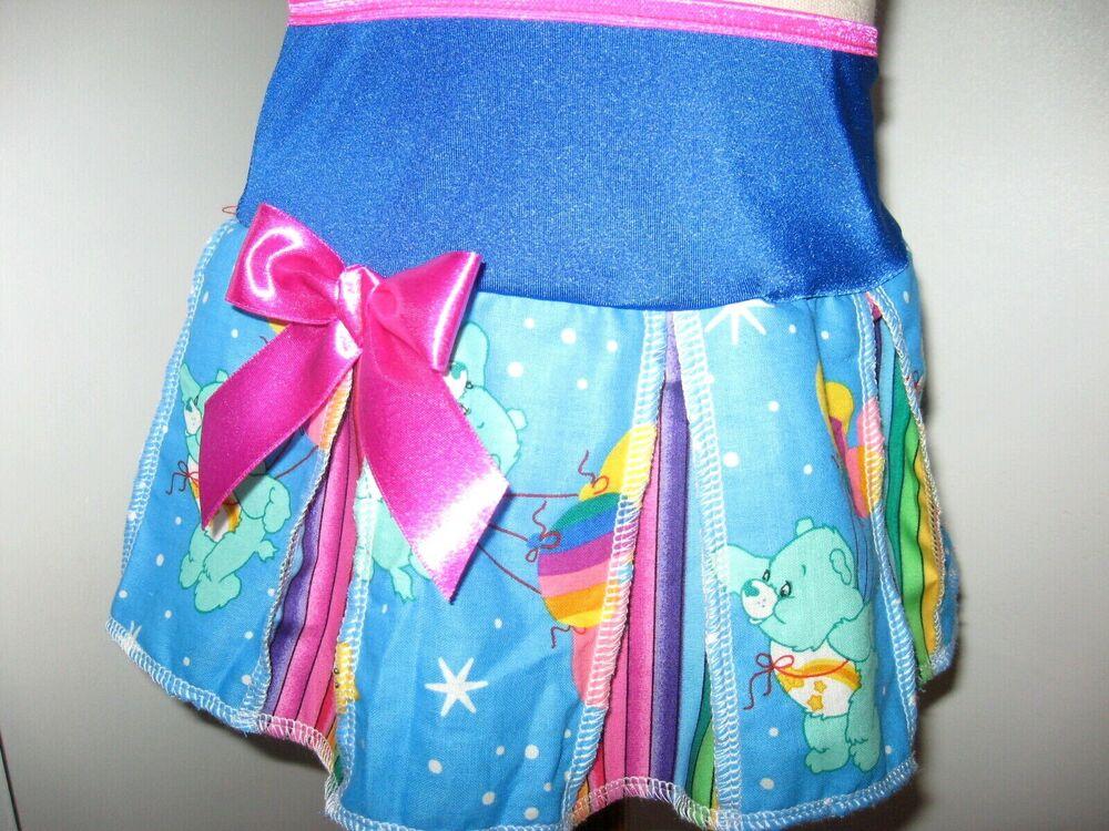 Arc En Ciel Care Bears Jupe Adulte Bleu Rose Festival Party Lolita Fun Barbie Fée