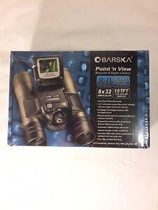 NEW-Barska-4x-Digital-Zoom-8x32mm-Point-039-n-View-8-0MP-Binoculars-and-Camera