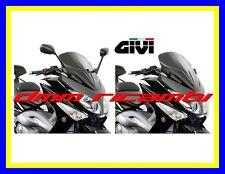 Cupolino GIVI YAMAHA T-MAX 500 08>09 corto basso + tappi specchio TMAX 2008 2009