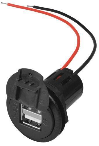 Deckel ProCar KFZ LKW 2* USB Doppel Einbau Steckdose für 12V 24V 5V max 5000mA