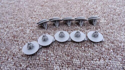Fiat en plastique wheel arch trim clips extérieur fasteners 10PCS