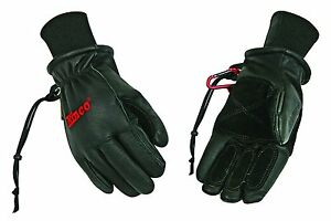 Kinco-900-MAX-Mens-Winter-Ski-Gloves-Premium-Pigskin-Leather-Black-Size-M-XL