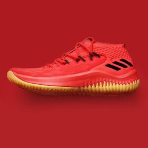 b5d76e8877b adidas Dame 4 CQ0186 400 Degreez Red Gum Black Lillard Dolla Blazers ...