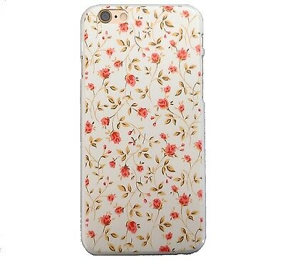 RETRO CUTE SHABBY CHIC VINTAGE FLORAL COVER FOR IPHONE 4 4S HARD PHONE CASE