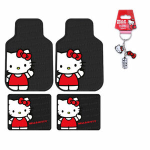 0e8239a48 Sanrio Hello Kitty Core Car Truck Front Rear Rubber Floor Mats ...