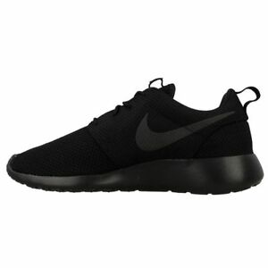 new concept 87592 c0aac Details about Nike Roshe One Black Black Men's New In Box 100% Original  511881 021
