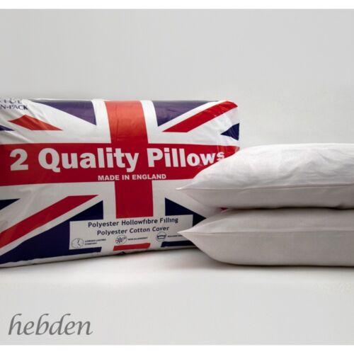 Union Jack Ultra Super Bounce Pillows PAIR