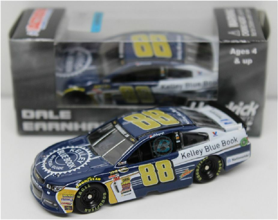 NASCAR 2015 DALE EARNHARDT JR KELLEY blueE BOOK 1 64 DIECAST CAR