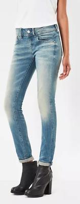 G Star Raw Lynn Skinny Light Aged Jeans Women's W28 L32 *REF81 15* | eBay