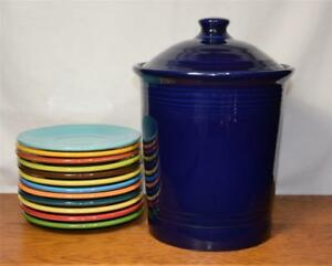Fiesta-COBALT-BLUE-Large-Canister-1st-Quality