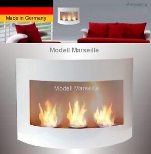 Gel-und-Ethanol-Kamin-Marseille-Weiss-Feuerstelle-Kamin-Bio-Ethanol