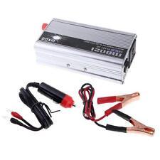 1200W Car Power Inverter DC 12v To AC 110v Charger Converter Sine Wave US P2F0