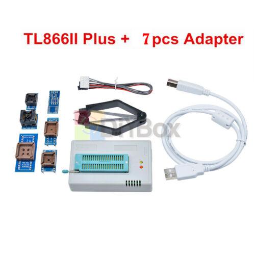 adapter TL866II Plus programmer TL866 nand flash AVR PIC Bios USB Programmer