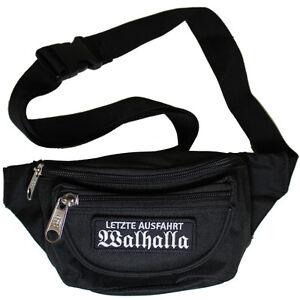 Bauchtasche La Familia bis 135 cm Umfang schwarz tarn biker hip hop deutschrock