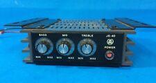 Vintage JSL JS-40 Amplifier Equalizer  Auto BASS MID TREBLE - RARE BD37