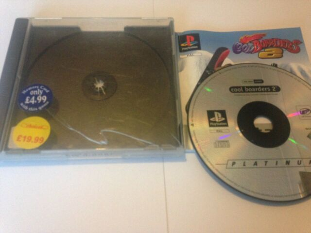 Cool Boarders 2 Game For Sony PlayStation 1 PS1 Worldwide Post! NO FRONT INLAY