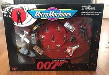 NIB James Bond 007 Micro Machines set Goldfinger Moonraker the Spy who loved me