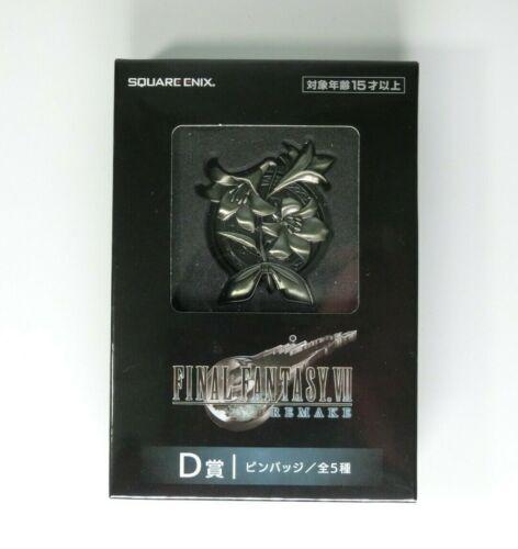 Final Fantasy VII Rremake PIN BADGE AERITH lottery Kuji D Prize FF7  03//2020