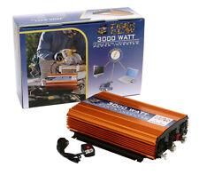 Tiger Claw 3000 Watt Power Inverter DC-AC 6000 Watt Peak Power Car Truck
