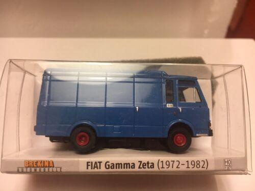 BREKINA 34501 furgone FIAT Gamma Zeta colore azzurro in 1//87