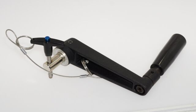 MILITARY TRUCK GUN RING TURRET TRAVERSING HAND CRANK FOLDING HANDLE M998 LMTV A1