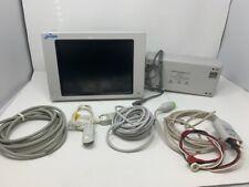Spacelabs 60369 Patient Monitor Ecg Spo2 Nibp Printer Temp Tested