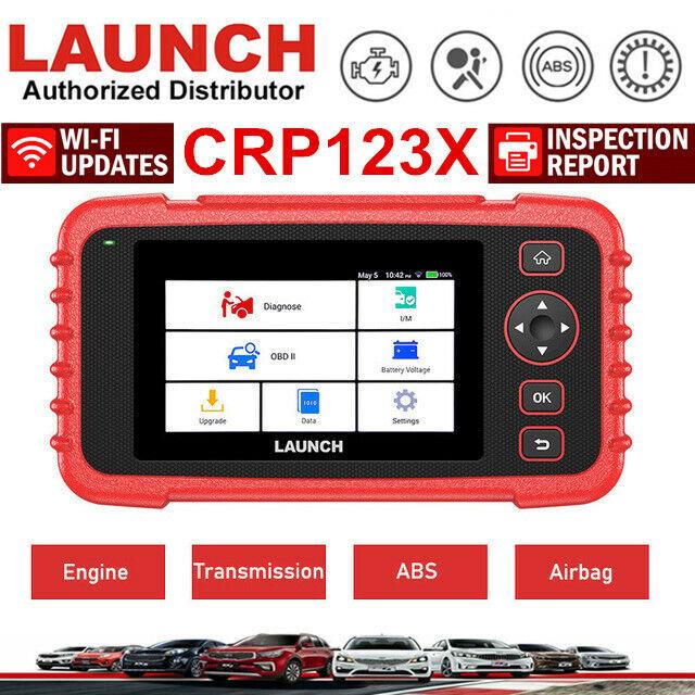 Professional LAUNCH X431 CRP123X OBD2 II Car Diagnostic Scanner Tool Code Reader