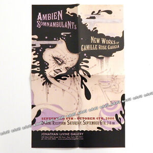 CAMILLE-ROSE-GARCIA-Rare-Art-Exhibition-Poster-Print-from-2008