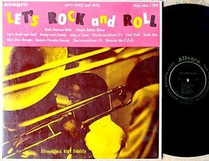 LET-039-S-ROCK-AND-ROLL-LP-Allegro-1704-Jump-blues-R-amp-B-COOTIE-WILLIAMS-EDDIE-MACK