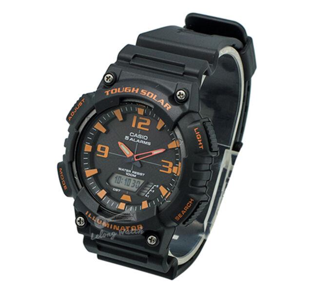 -Casio AQS810W-8A Analog Digital Tough Solar Watch Brand New & 100% Authentic