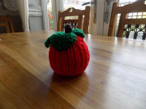 Handknit Apple para el profesor Cubierta para Terry/'s Chocolate Naranja
