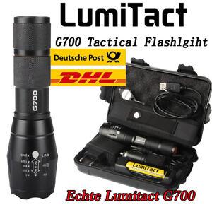 20000lm echte Lumitact G700 CREE L2 LED taktische Taschenlampe Military Torch