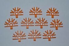 lot of 10 gold  K'Nex 5 position connectors- combined shipping