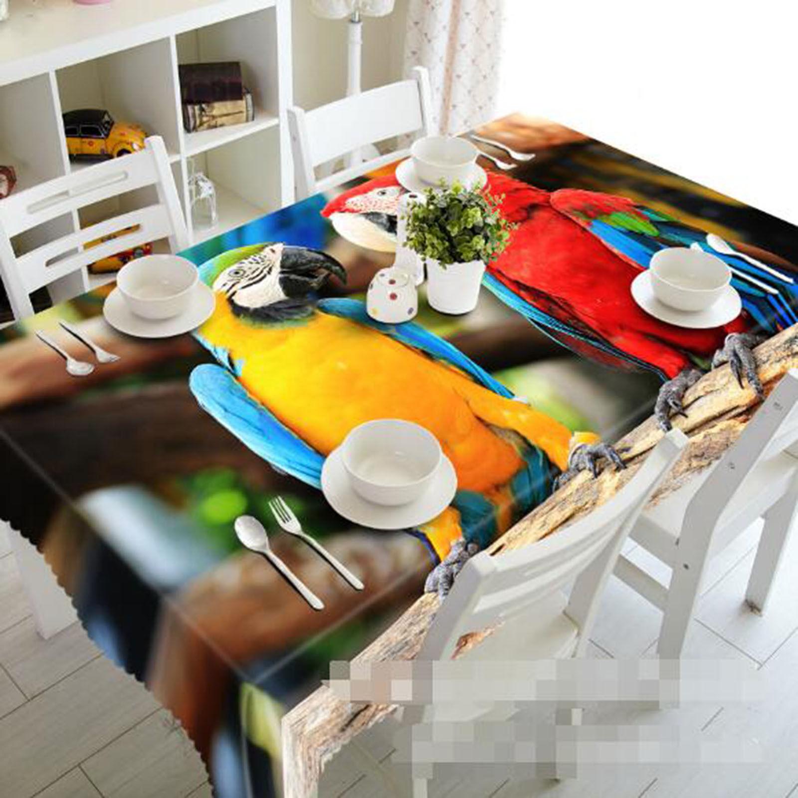 3D Parrouge 54 Nappe Table Cover Cloth fête d'anniversaire AJ papier peint Royaume-Uni Citron