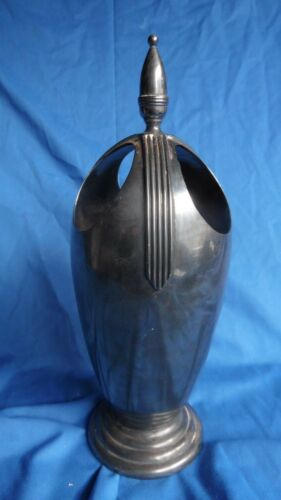 Attribruted to Belle Kogan Reed Barton Silverplate Vase Modernist 1938 Russian