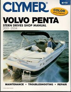 CLYMER MERCRUISER INBOARD OUTBOARD BRAVO ONE SHOP REPAIR SERVICE MANUAL 95-97