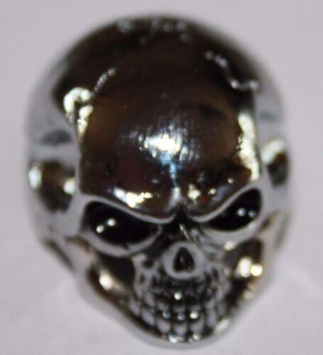 Potiknopf Jumbo Skull Totenkopf 6 /& 6,3 mm  Q-parts Metall Hammeroptik Knopf