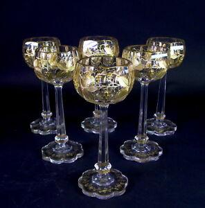 6-traumhafte-antike-Weinglaeser-reich-geschliffen