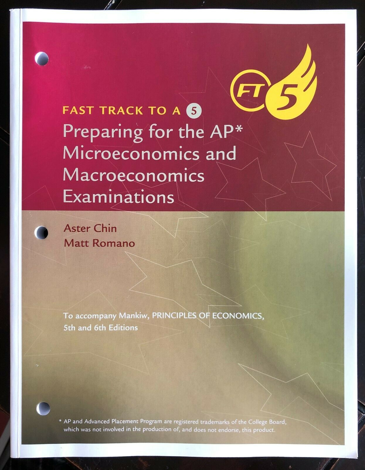 Preparing For The AP Microeconomics And Macroeconomics Examinations By N Gregory Mankiw 2012 Paperback