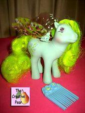Hasbro My Little Pony Flutter Morning Glory w Original Iridescent Wings! 1986