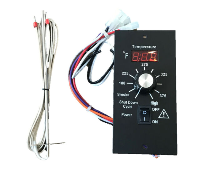 US NEW TRAEGER DIGITAL THERMOSTAT CONTROLLER + RTD UPGRADE FOR BAC236 AND  OTHERS