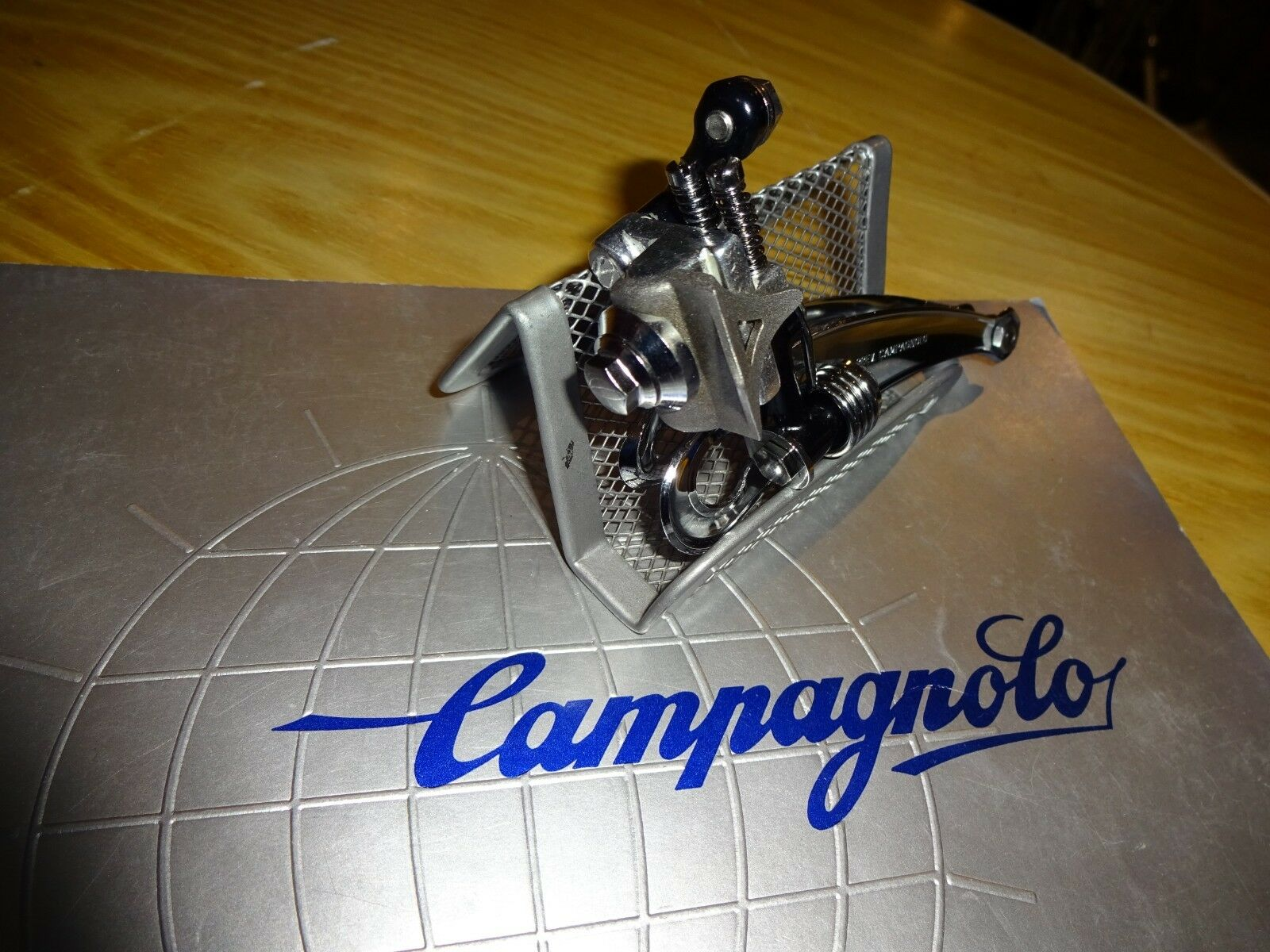 NEW CAMPAGNOLO SUPER RECORD FRONT DERAILLEUR W   BRAZE-ON FOR COLNAGO, CINELLI,