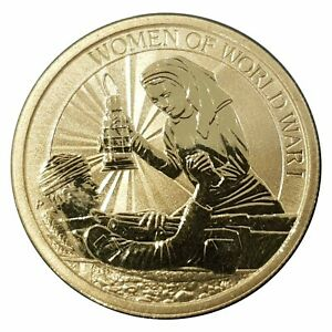 Australia-2017-Women-In-War-A-Century-of-Service-1-Dollar-UNC-Coin-Carded