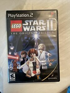 Lego Star Wars II: The Original Trilogy (Sony PlayStation 2 PS2) Game Tested