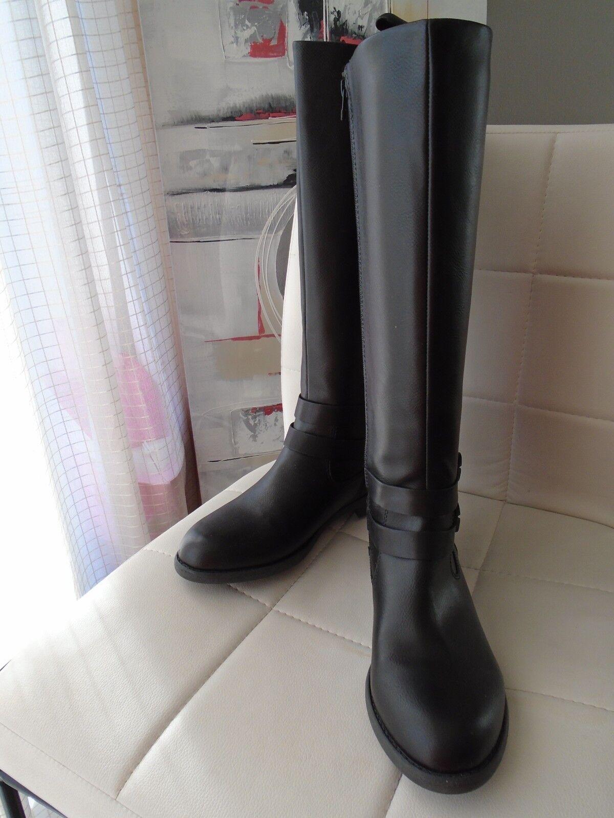 Esprit Hanie Stiefel ca.40 Reißverschluss ca.40 Stiefel cm hoch schwarz Größe 42 NEU 73f9bd